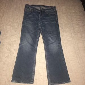 Women's Silver Jeans, Aiko, Mid-Rise Bootcut